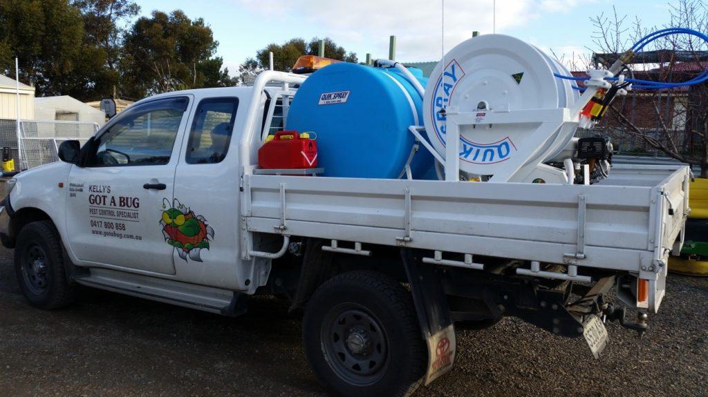 quickspray-unit